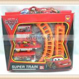 Hot sell kids toy plastic electric orbit train