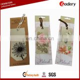 Hot selling canvas bookmark wholesale custom bookmarks