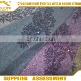 2016 Shaoxing Supplier polyester mess chiffon fabric for blouse/RPET chiffion fabric , dress fabric