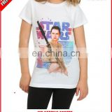 Kids girl custom printed tshirt manufacturer