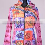 Colorful Om Bodhi Symbol Bohemian Hoodies & Jacket CSWJ 440