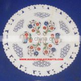 Marble Inlay Decorative Handmade Plate