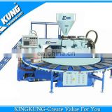 PVC sole molding machine wachine with air blowing system/ shoe making machine