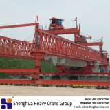 China HSHCL 200 ton truss type beam launcher bridge erect machine