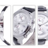 Genuine leather watch stainless steel watch fashion watch Wrist watch