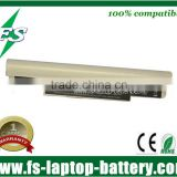 Replacement battery laptop for Samsung NC10 battery 11.1v 7800mAh White color