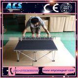 ACS New Style Easy Install portable Stage, folding portable platform, Popular aluminum stage for sale