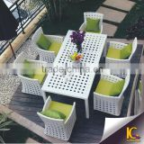 Shops Selling Outdoor Wicker Table and Chairs/Outdoor Garden Dining Set/Garden Rattan Furniture