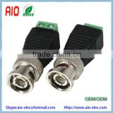 BNC MALE CONNECTOR TO Doul Screw TERMINAL TWISTED PAIR ADAPTER