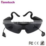 2014 New Launched Fashionable High Quality Sports Sunglasses with Bluetooth Receiver