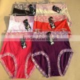 0.69USD High Quality Cotton Material Beautiful Fat Lady Panty/Panties/Thongs(jlhnk223)