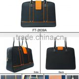 Hot sale item new high quality trendy design special Business men Travel Bag grey colour polyester