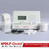 home automation !!!wireless gsm sms quad band safe house alarm security system with free remote control