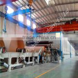 Dingchen 3600mm kraft liner paper making machine for cement bag paper,envelop paper and package bag paper with high quality