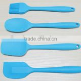 YangJiang factory manufacture Wholesale Colorful high quality 4pcs silicone cooking tool set