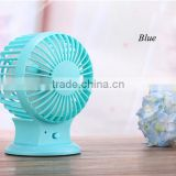 Mini rechargeable electric usb air cooling usb fan with battery                                                                         Quality Choice
