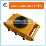 INquiry about Easy Hand Tool Cargo Roller Trolley For Warehouse Supermall Facory Transport heavy duty goods 6-18Tons