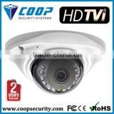 Mini Metal Vand-proof UFO Type 3.6 mm Fixed Lens IR Dome Camera 2 Years Warranty HD TVI Camera