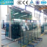 dichroic laminated glass with 0.76mm PVB film (SGP) CE TUV certification