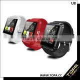 U Watch U8 bluetooth smart wrist watch phone with 1.44 inch touch screen nucleus smart watch