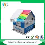 Wholesale colorful paperboard house shaped sticky note pad
