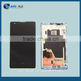 china supplier LCD display assembly for Nokia Lumia 1020 black