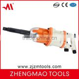 "ZM1490 heavy duty and handle exhaust pneumatic wrench with pinless hammer 1""inch size ideal for high volume tire"