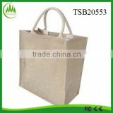 2015 hot sell wholesale tote bag, burlap bag shopping ecofriendly beach bag,jute bag making machine