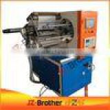 kraft paper roll slitting and rewinding machine