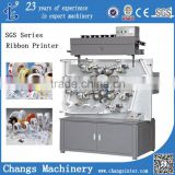 2/3/4/6/7/8 color Satin/Ribbon/Paper/Fabric/Elastic tape/Flexographic Label Printing Machine for sale                                                                         Quality Choice