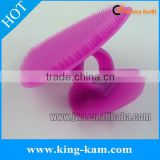 baby silicone shower bath, Silicone facial brush
