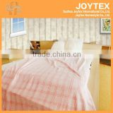 150D/288F 2013 plaid Warm roll Printed coral Fleece Blankets/Throws/pink fancy design cutting 100% polyester for home