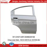 Aftermarket Car auto body parts Middle Door for Chevrolet Sail 2010
