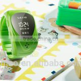 kids cell phone watch gsm gprs tracker for kids with SOS panic button, GPS+LBS, android and iOS app and long standby time
