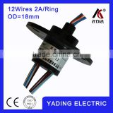 capsule slip ring 018-12 dia.18mm 12wires 2A/Per wires                                                                         Quality Choice