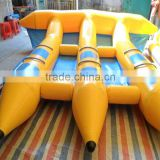 0.9mm PVC Inflatable Flyfish Inflatable Banana Boat Flyfish Water Game Flyfish Banana Boat