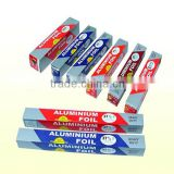 Recyclable kitchen aluminum foil roll widely used in cooking, freezing, baking and storing.