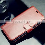 best quality wallet leather case with photo frame, flip leather case for samsung galaxy s5, leather phone bag