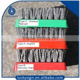 Highly quality dupont antique granite brush,stone polish grinding tools brush factory