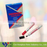 China supplier chalk permanent snowman marker pen