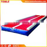 Inflatable Air Mat For Gymnastics/ Inflatable Tumbling track/ Inflatable Gym Air Track Factory