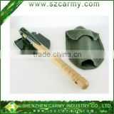 Hot Sale Mini Multi-function Folding Shovel Survival Trowel Dibble Pick Military folding shovel