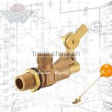 Brass and bronze Heavy Duty high flow rate float valve