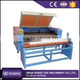 Garment textile auto feeding laser cutting machine 1325 1610 laser engraving machine price