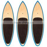 High quality bamboo paddle surf board
