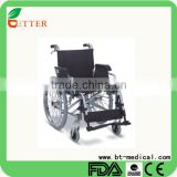 Standard foldable aluminum wheelchair