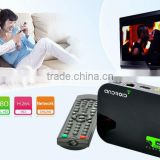 Hot selling Dual core android 4.2 full hd media player 1080p 3D blue-ray iptv box hd media player HDMI input media player