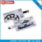 Factory cheap sale 4GB 8GB16GB 32Gb 64GB 128GB 256GB credit card USB Flash Drives with customer's logo