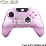 Replacement shell for Xbox one housing pink, chrome housing shell for xbox one controller kits with buttons