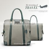 Fashionable design Canvas mix leather Men's Travel Bag for Dalily use & china manufacturer